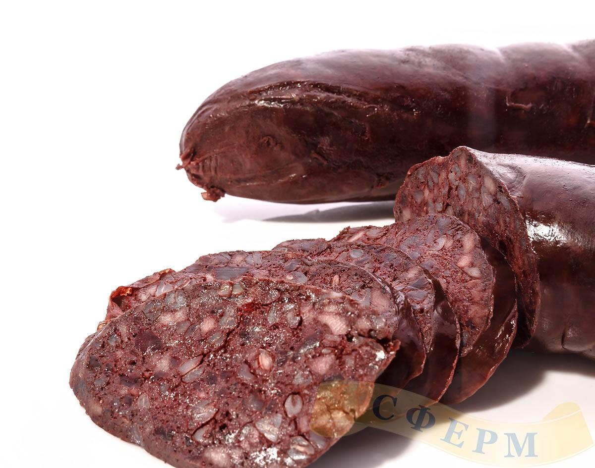 Кровяная колбаса пошаговый рецепт